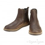 Geox Wong Boys Brown Boot