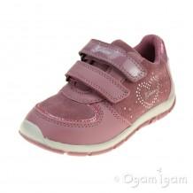Geox Shaax Girls Dark Pink Shoe