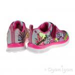Skechers Skech Appeal Girls Neon Pink-Multi Trainer