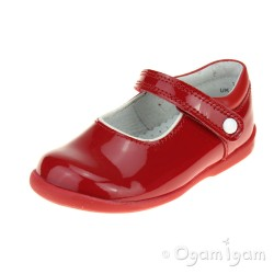 Start-rite Nancy Girls Red Patent Shoe