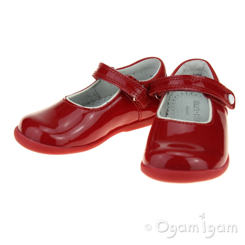 Start-rite Nancy Girls/' Shoes Pink Patent Leather 50/% OFF RRP