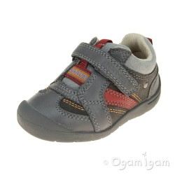 Start-rite SRSS Play Fst Boys Grey Shoe