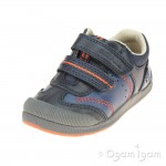Start-rite Tough Bug Boys Navy Shoe