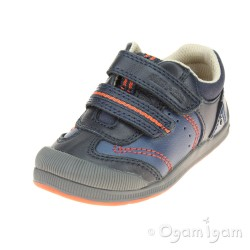 Start-rite Tough Bug Boys Navy Shoe