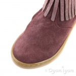 Shoo Pom Play Fringe Girls Berry-Platine Boot