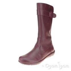 Primigi PWT 8151 Girls Tall Bordo Red Boot