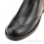 Geox Sofia Girls Black Ankle Boot