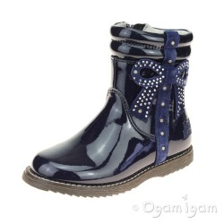 Lelli Kelly Felicia Girls Blue patent Boot
