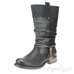 Rieker 9727900 Womens Black Boot