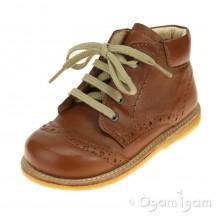 Angulus 2378 Boys Girls Lace up Cognac Boot