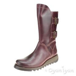 Fly London Sack Womens Purple Boot