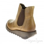 Fly London Salv Womens Camel Ankle Boot