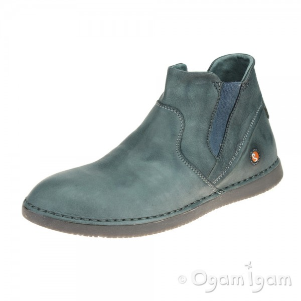 Softinos Tep Womens Petrol-Green Boot