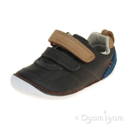 Clarks Tiny Aspire Infant Boys Grey Shoe