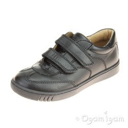Primigi PHK 8114 Boys Black School Shoe