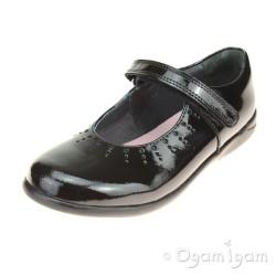 Start-rite Mary Jane Girls Black Patent School Shoe