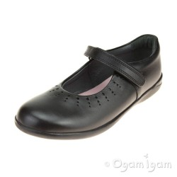 Start-rite Mary Jane Girls Black School Shoe