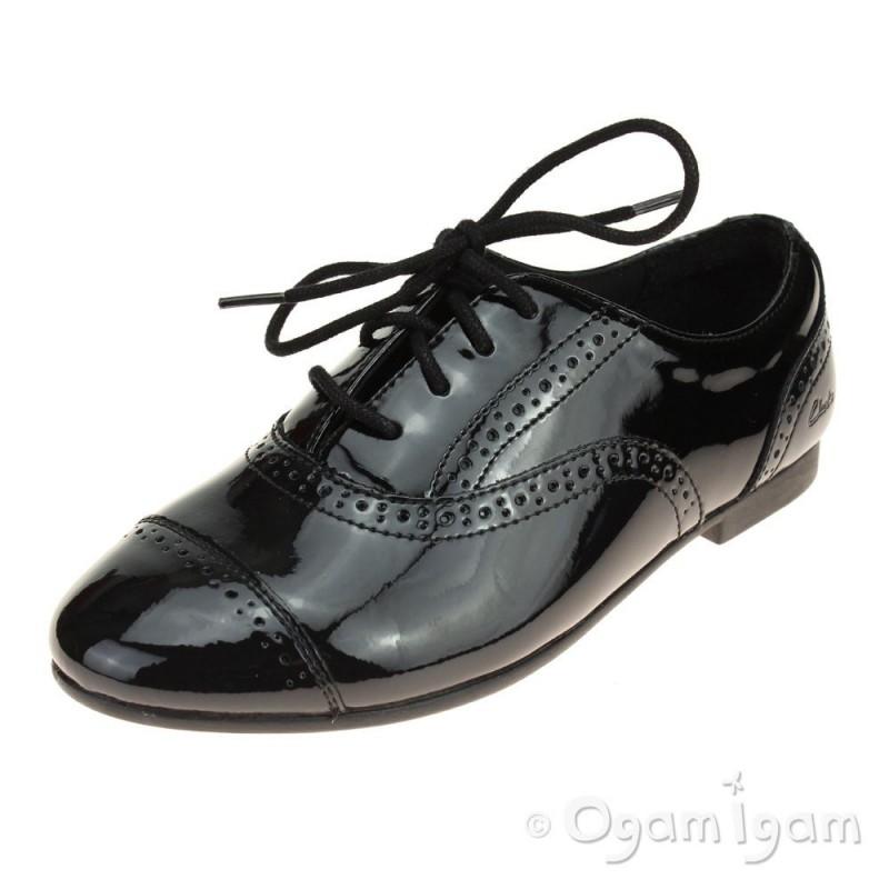 girls clarks school shoes