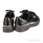 Start-rite Impulsive Girls Black School Shoe - 35057