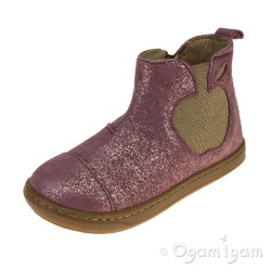 Shoo Pom Bouba Apple Girls Berry Boot