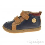 Shoo Pom Bouba New Scratch Infant Boys Navy-Camel Boot