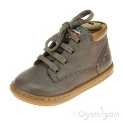 Shoo Pom Bouba Zip Desert Infant Boys Grey Boot