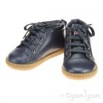 Shoo Pom Bouba Pad Lace Infant Boys Navy Boot