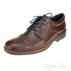Rieker 1600226 Mens Brown Shoe