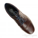 Rieker 1600226 Mens Brown Shoe