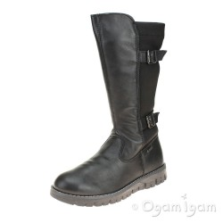 Primigi Progt 8602 Girls Black Waterproof Boot