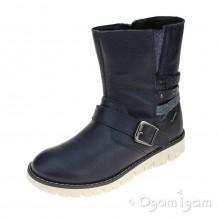 Primigi Progt 8601 Girls Blue Ankle Boot