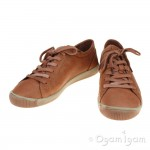 Softinos Isla Womens Brick Brown Shoe