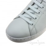 Geox Jaysen Womens White Lace-up Shoe