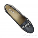 Geox Arethea Womens Navy Shoe