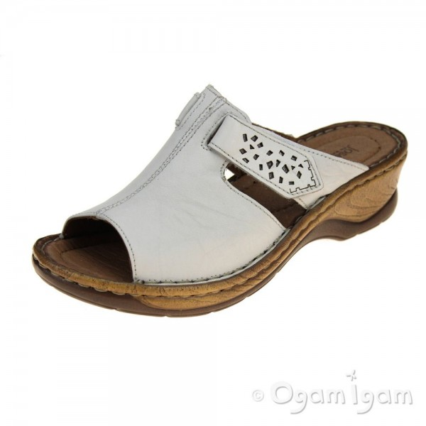 Josef Seibel Catalonia 32 Womens White Sandal