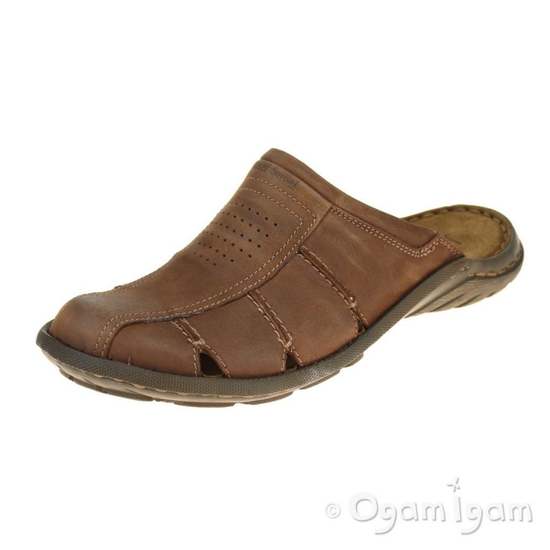 3092706c1bb Josef Seibel Logan 22 Mens Nut Brown Sandal