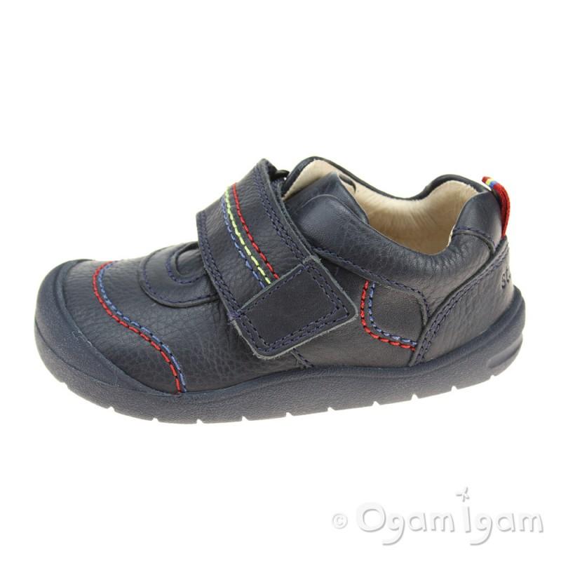 Start Rite First zak Boys First Shoes 6.5 Navy G 0kgr1d