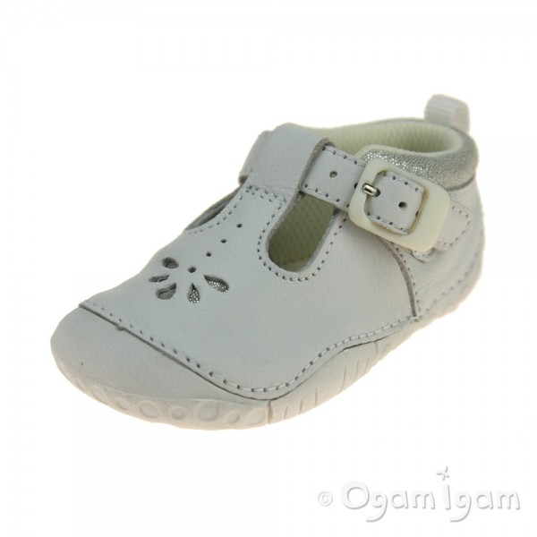 Start-rite Baby Bubble Girls White Shoe