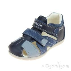 Geox Kaytan Boys Navy-Avio Sandal