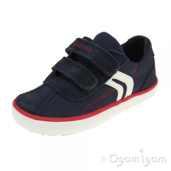 Geox Kilwi Boys Navy Shoe