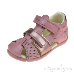 Geox Kaytan Girls Light pink Sandal