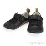 Clarks Dash Racer Boys Black Shoe