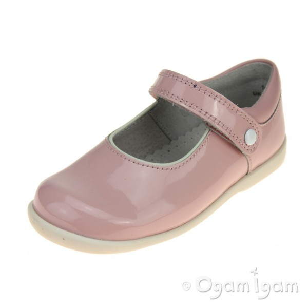 Start-rite Nancy Girls Pink Patent Shoe