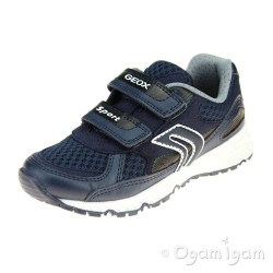 Geox Bernie Boys Navy Trainer