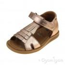 Shoo Pom Tity Fringe Infant Girls Copper Sandal