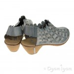 Rieker 4677813 Womens Azur-Grey Shoe