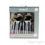Bobux Xplorer Paint Infant Boys White Navy Shoe