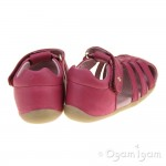 Bobux Jump Girls Dark Pink Sandal