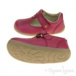 Bobux Louise Girls Dark Pink Shoe