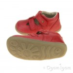 Bobux Jack and Jill Boys Girls Red Shoe